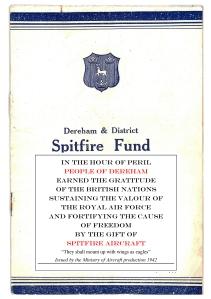 Dereham Spitfire Fund - cover